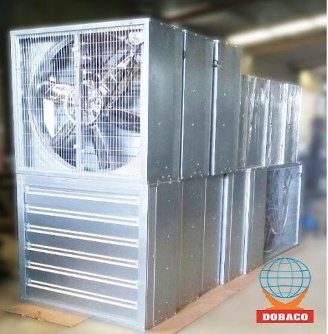 Sản phẩm quạt công nghiệp DOBACO được ưa chuộng sử dụng