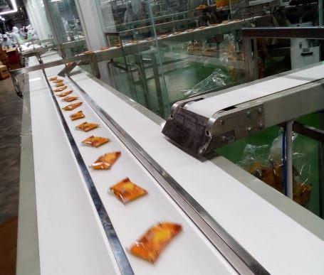 Băng chuyền sản xuất bánh kẹo